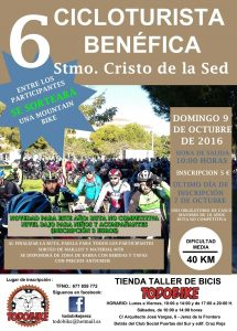 "VI Cicloturista Benéfica ""Cristo de la Sed"" @ Parroquia San Juan Grande"