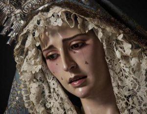 Resultado de imagen de Amparo de María Santísima de la Hdad de La Sed en Jerez
