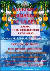 ZAMBOMBA 2018 @ Parroquia San Juan Grande y Ntra. Sra. de la Candelaria