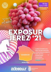 Feria EXPOSUR 2021 @ Explanada del Mercadillo (Parking del Campo de La Juventud), C/ Hijuela de las Coles